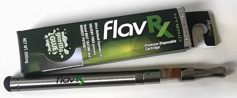 FlavRx Cannabis Oil Vape Cartridge 2